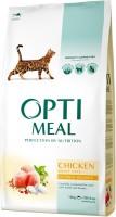 Фото - Корм для кошек Optimeal Adult Chicken 0.65 kg