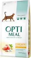 Фото - Корм для кошек Optimeal Adult Chicken 4 kg