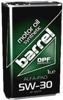 Моторное масло Barrel Alfa-Pao 5W-30 1L