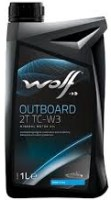 Моторное масло WOLF Outboard 2T TC-W3 1L