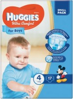 Фото - Подгузники Huggies Ultra Comfort Boy 4 / 17 pcs