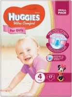 Фото - Подгузники Huggies Ultra Comfort Girl 4 / 17 pcs