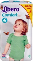 Фото - Подгузники Libero Comfort 6 / 72 pcs