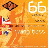 Струны Rotosound Swing Bass 66 6-String Hybrid 30-125