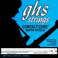 Струны GHS Contact Core Super Steels 45-129