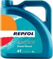 Моторное масло Repsol Nautico Diesel Board 4T 15W-40 4L