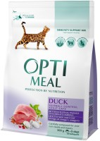 Корм для кошек Optimeal Adult Hairball with Duck 0.3 kg