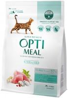 Фото - Корм для кошек Optimeal Adult Sterilised with Turkey 0.3 kg