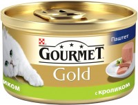 Фото - Корм для кошек Gourmet Packaging Gold Canned with Rabbit 0.085 kg