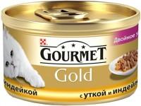 Фото - Корм для кошек Gourmet Packaging Gold Canned with Duck/Turkey 0.085 kg