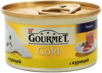 Фото - Корм для кошек Gourmet Packaging Gold Canned with Chicken 0.085 kg
