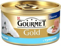 Фото - Корм для кошек Gourmet Packaging Gold Canned with Tuna 0.085 kg