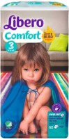 Подгузники Libero Comfort Hero Collection 3 / 62 pcs