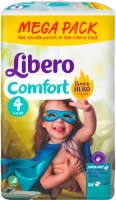 Фото - Подгузники Libero Comfort Hero Collection 4 / 84 pcs