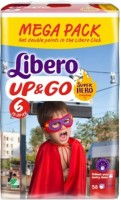 Подгузники Libero Up and Go Hero Collection 6 / 20 pcs
