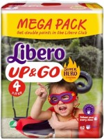 Фото - Подгузники Libero Up and Go Hero Collection 4 / 62 pcs