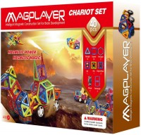 Фото - Конструктор Magplayer Chariot Set MPB-40