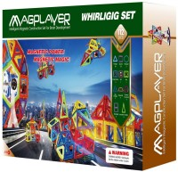 Фото - Конструктор Magplayer Whirligig Set MPB-112