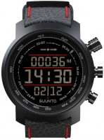 Фото - Наручные часы Suunto Elementum Terra Black/Red Leather