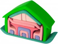 Конструктор Nic House with Furniture Green/Rose 523265