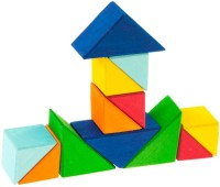 Фото - Конструктор Nic Building Blocks Square Triangles 523345