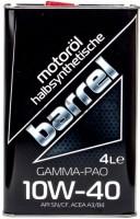 Моторное масло Barrel Gamma-Pao 10W-40 4L