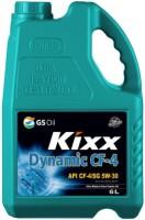 Моторное масло Kixx Dynamic CF-4 5W-30 6L