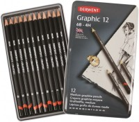 Карандаши Derwent Graphic Medium Set of 12