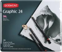 Карандаши Derwent Graphic Set of 24