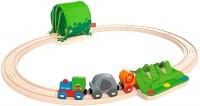 Автотрек / железная дорога Hape Jungle Train Journey Set E3800