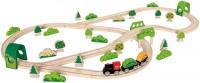 Автотрек / железная дорога Hape Forest Railway Set E3713