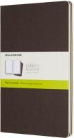 Блокнот Moleskine Set of 3 Ruled Cahier Journals Large Brown