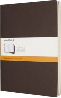 Блокнот Moleskine Set of 3 Ruled Cahier Journals XLarge Brown