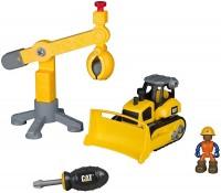 Фото - Конструктор Toy State Bulldozer with Crane 80912