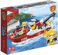 Фото - Конструктор BanBao Fire Boat 7105