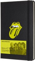Блокнот Moleskine Rolling Stones Ruled Black