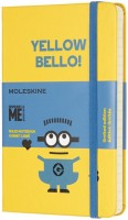 Блокнот Moleskine Minions Ruled Pocket Yellow