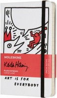 Блокнот Moleskine Keith Haring Ruled Pocket