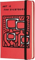 Блокнот Moleskine Keith Haring Plain Pocket