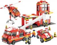 Фото - Конструктор Sluban Fire Station Big Set M38-B0227