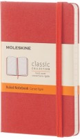 Блокнот Moleskine Ruled Notebook Pocket Orange