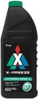 Охлаждающая жидкость X-FREEZE Antifreeze Green 11 1L