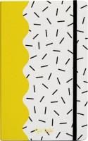 Блокнот Kyiv Style Ruled Notebook A5 Yellow
