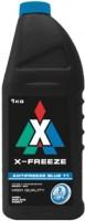 Охлаждающая жидкость X-FREEZE Antifreeze Blue 11 1L