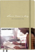 Ежедневник Leuchtturm1917 Some Lines A Day Beige