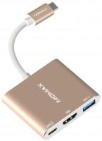 Фото - Картридер/USB-хаб Momax Elite Type C Multimedia Hub
