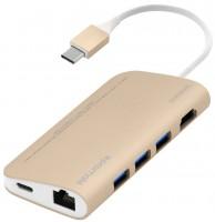 Фото - Картридер/USB-хаб Promate CoreHub-C