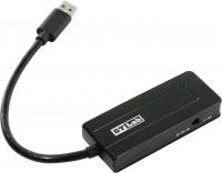 Картридер/USB-хаб STLab U-930