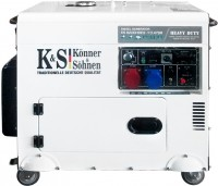 Электрогенератор Konner&Sohnen KS 9200HDES-1/3 ATSR