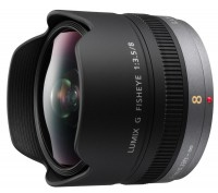 Объектив Panasonic H-F008E 8mm f/3.5 Fish Eye